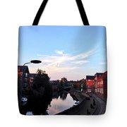 Quayside Strange Clouds Tote Bag