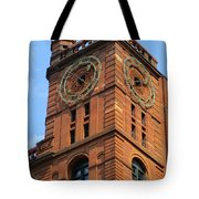 Quebec Bank Building Tote Bag