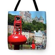 Quebec City 58 Tote Bag