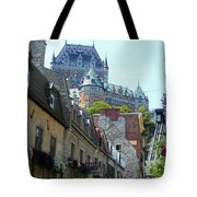 Quebec City 61 Tote Bag