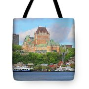 Quebec City  6326 B  Tote Bag