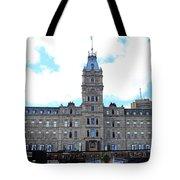 Quebec City 78 Tote Bag
