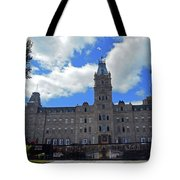 Quebec City 79 Tote Bag