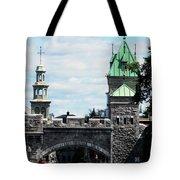 Quebec City 81 Tote Bag