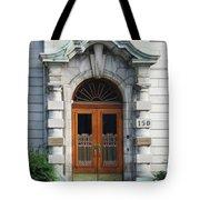 Quebec City Doors 1 Tote Bag