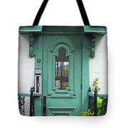 Quebec City Doors 3 Tote Bag