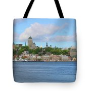 Quebec City Waterfront  6320 Tote Bag