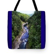 Quechee Gorge In Vermont Tote Bag