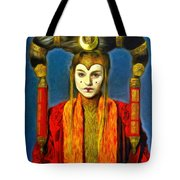 Queen Amidala Senate Costume Tote Bag