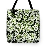 Queen Anne's Lace Patterns Tote Bag