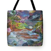 Queen City Dreaming Tote Bag