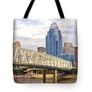 Queen City - Van Gogh Tote Bag