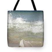 Queen Conch On The Beach Tote Bag