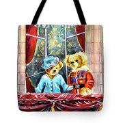 Queen Elizabeth And Prince Philip At Newby Hall Tote Bag