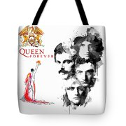 Queen Forever Remix II Tote Bag