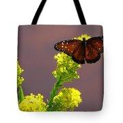 Queen Fritillary Tote Bag