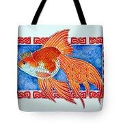Queen Goldfish Tote Bag