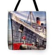 Queen Mary Ghost Ship Tote Bag