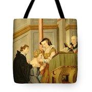 Queen Mary I Curing Subject With Royal Tote Bag