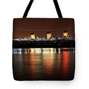 Queen Mary Panorama  Tote Bag