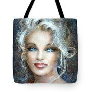 Queen Of Glamour Bright Tote Bag