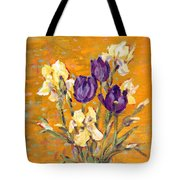 Queen Of Night And King Of Sun Tote Bag