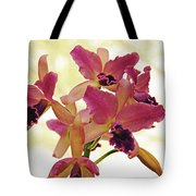 Queen Of Orchids Tote Bag