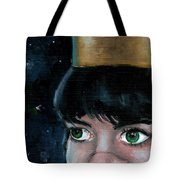 Queen Of Space Tote Bag