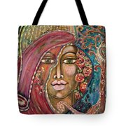 Queen Of The Cosmos Tote Bag