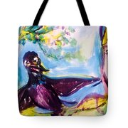 Queen Of The Crows Tote Bag