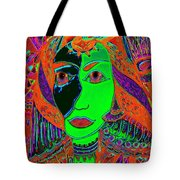 Queen Of The Nile Tote Bag