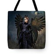 Queen Raven Tote Bag