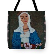 Queen St Isabel - The Miracle Of The Roses Tote Bag