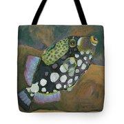Queen Trigger Fish Tote Bag