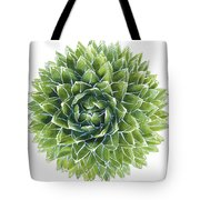 Queen Victoria Agave Succulent Tote Bag