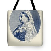 Queen Victoria Engraving - Her Majesty The Queen Tote Bag