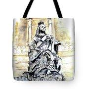 Queen Victoria In Valletta Tote Bag