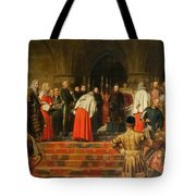 Queen Victoria Opening  Tote Bag