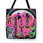 Queens Cat Mural Tote Bag