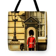 Queens Guards. Tote Bag
