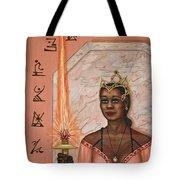 Queens New Toy Tote Bag by Roz Eve