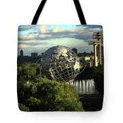 Queens New York City - Unisphere Tote Bag
