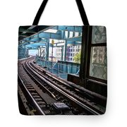 Queens Rails Tote Bag