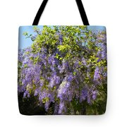 Queen's Wreath Vine Tote Bag