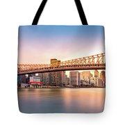 Queensboro Bridge At Sunset Tote Bag