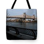 Queensboro Bridge, Nyc Tote Bag