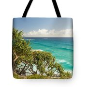 Queensland Coastline Tote Bag