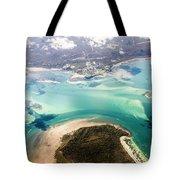 Queensland Island Bay Landscape Tote Bag
