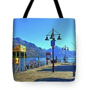 Queenstown's Majestic Mountains Tote Bag