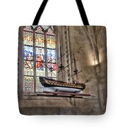 Quelven Church, Brittany, France, Ship Tote Bag
